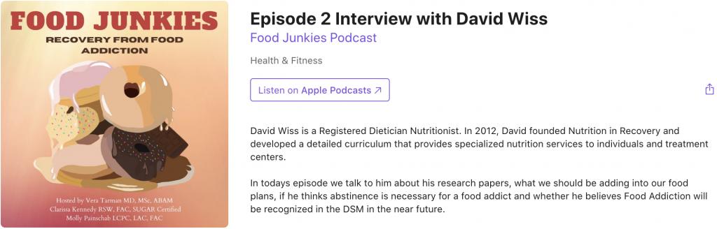 Food Junkies Podcast